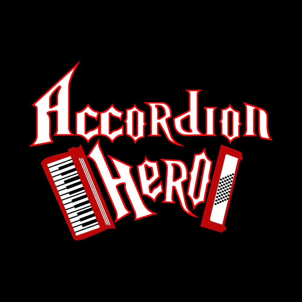 Accordion Hero Womens Long Sleeve Shirt