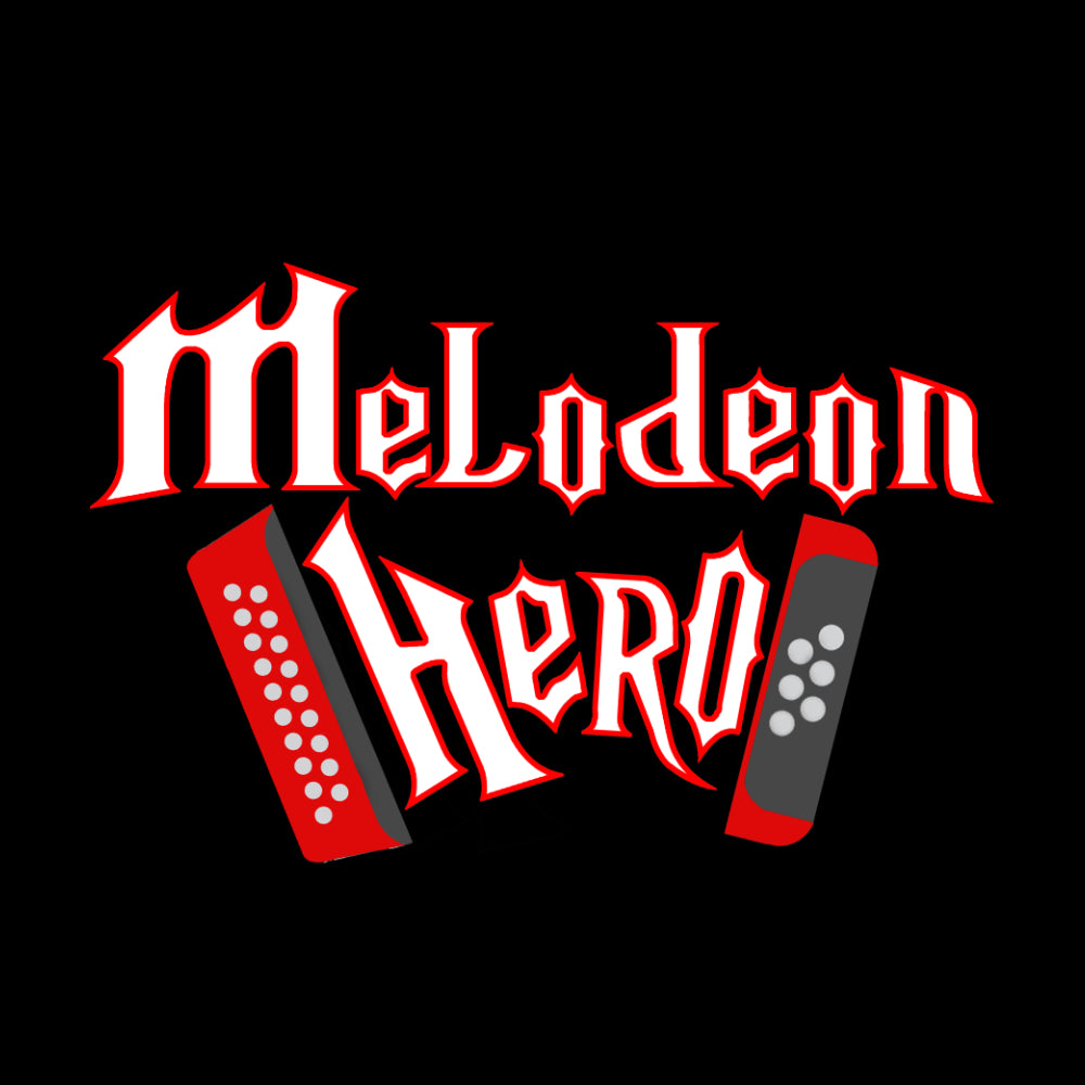 Melodeon Hero Mens Long Sleeve Shirt