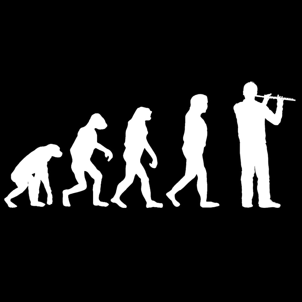 Evolution of Flute Players Sweatshirt