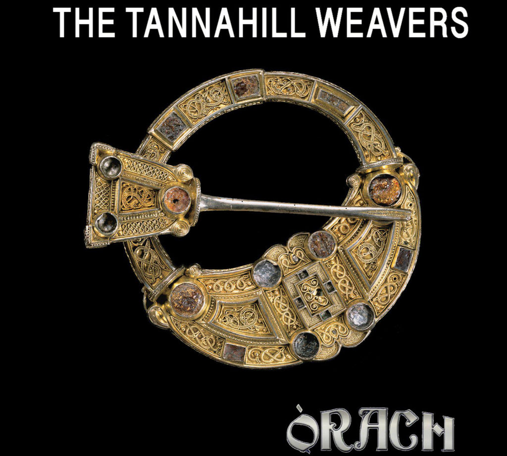 "update alt-text with template Tannahill Weavers ""Orach"" Ladies Fitted T-Shirt - T-shirt - Black - Mudchutney"