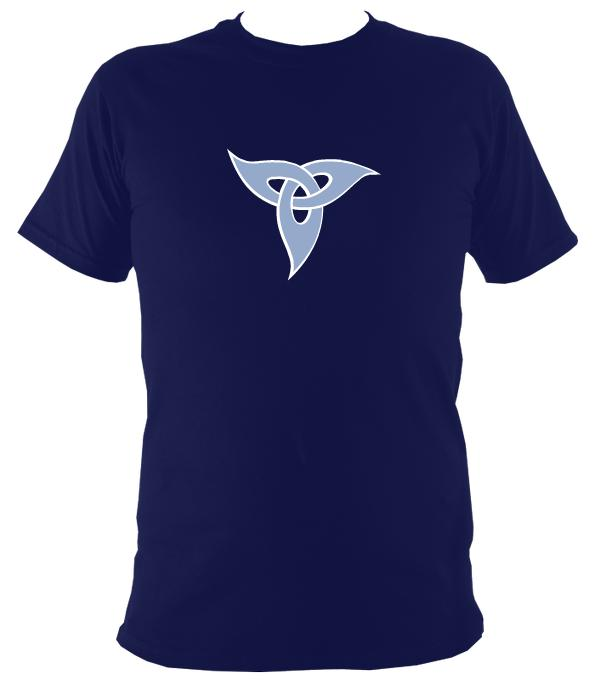 Tribal Design T-Shirt - T-shirt - Navy - Mudchutney