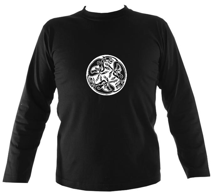 Celtic Animals Long Sleeve Shirt