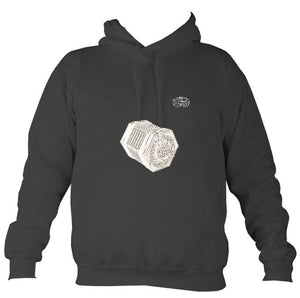 Lachenal Concertina Hoodie-Hoodie-Charcoal-Mudchutney