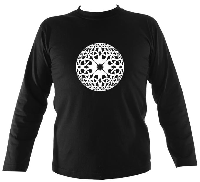 Celtic Globe Mens Long Sleeve Shirt