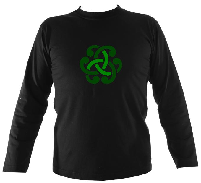 Irish Celtic Knot Long Sleeve Shirt