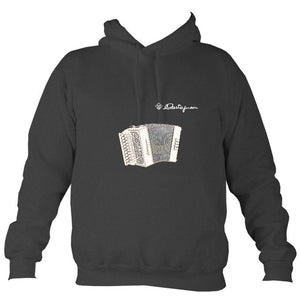 Castagnari Lilly Melodeon Hoodie-Hoodie-Charcoal-Mudchutney