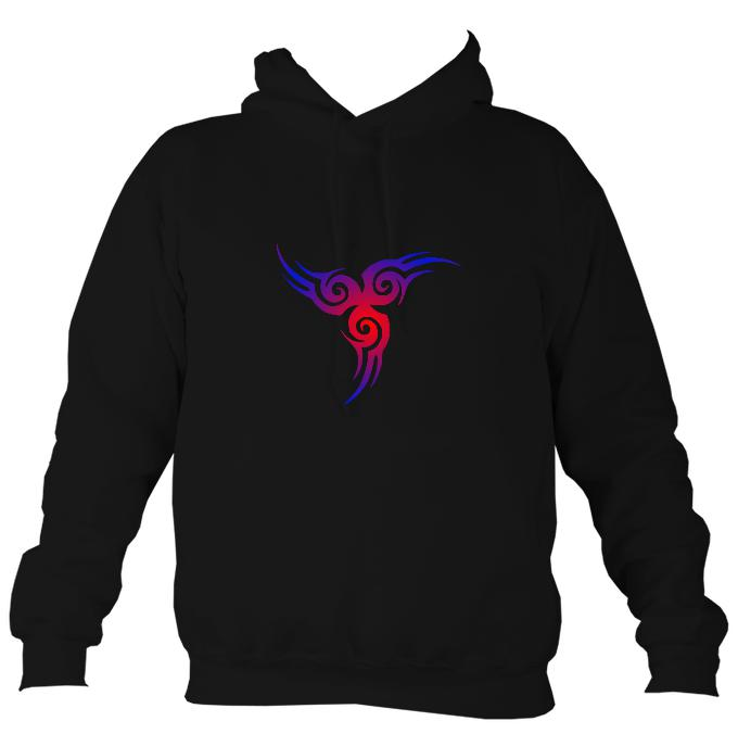 Celtic Tribal Hoodie-Hoodie-Jet black-Mudchutney