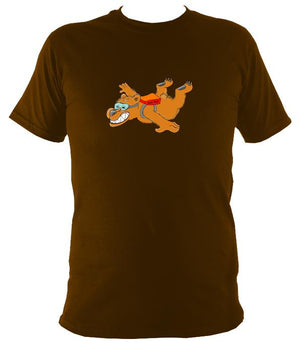 Dare Bear T-Shirt - T-shirt - Dark Chocolate - Mudchutney