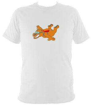 Dare Bear T-Shirt - T-shirt - White - Mudchutney