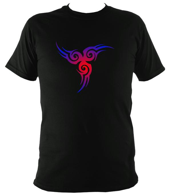 Celtic Style Tribal T-Shirt - T-shirt - Black - Mudchutney