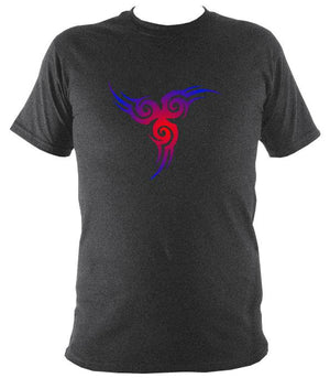 Celtic Style Tribal T-Shirt - T-shirt - Dark Heather - Mudchutney