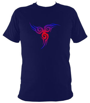 Celtic Style Tribal T-Shirt - T-shirt - Navy - Mudchutney