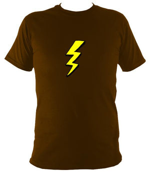 Lightening Bolt T-Shirt - T-shirt - Dark Chocolate - Mudchutney