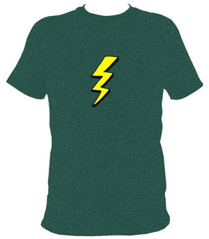 Lightening Bolt T-Shirt - T-shirt - Midnight - Mudchutney