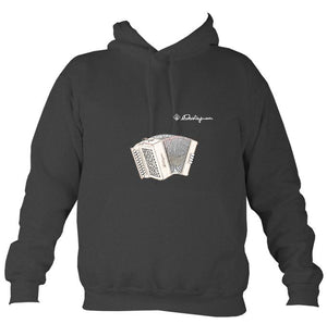 Castagnari Tommy Melodeon Hoodie-Hoodie-Charcoal-Mudchutney