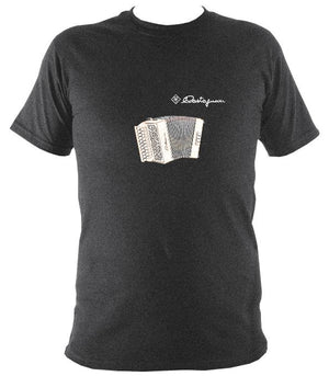 Castagnari Lilly Melodeon T-Shirt - T-shirt - Dark Heather - Mudchutney