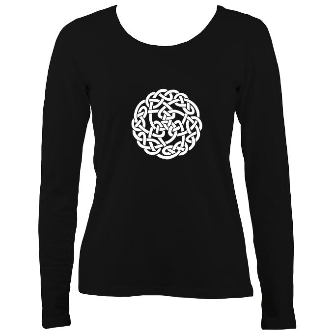 Celtic Knot Ladies Long Sleeve Shirt