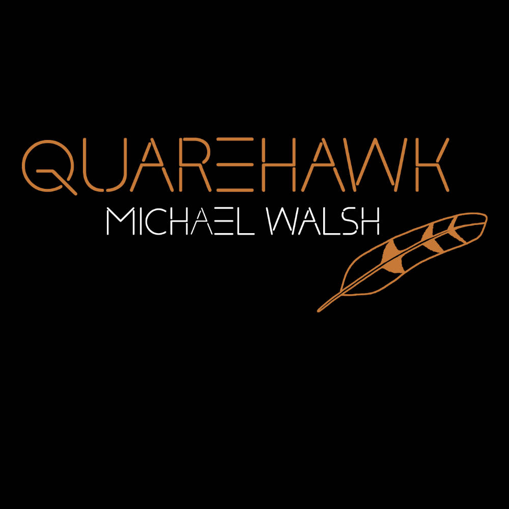 "Michael Walsh ""Quarehawk"" T-shirt"