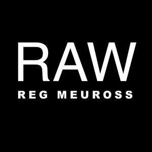 "update alt-text with template Reg Meuross ""Raw"" Ladies Fitted T-shirt - T-shirt - Black - Mudchutney"