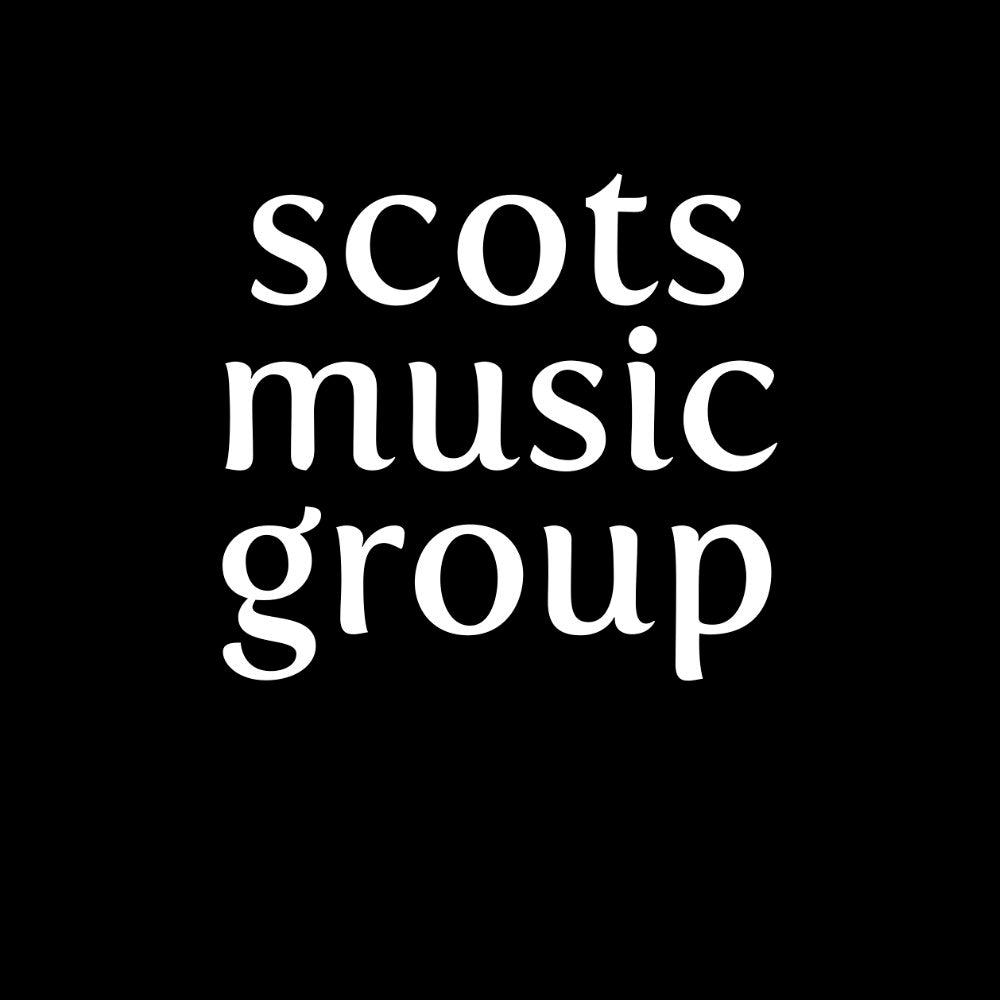 "Scots Music Group ""Small Logo"" Womens Fitted T-shirt"