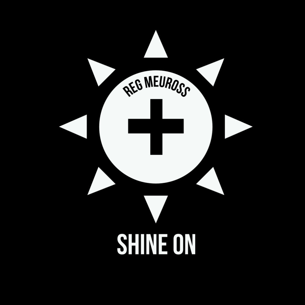 "Reg Meuross ""Shine On"" T-shirt"