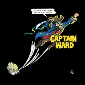 "The Demon Barbers ""Captain Ward"" T-shirt"