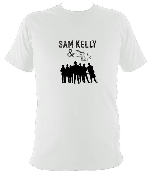 Sam Kelly and the Lost Boys T-shirt - T-shirt - White - Mudchutney