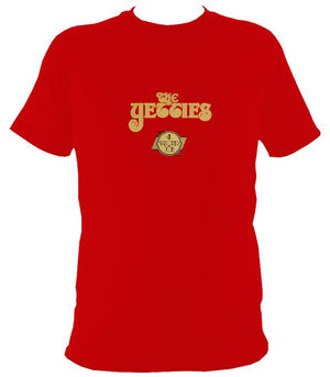 "The Yetties ""Proper Job"" T-shirt - T-shirt - Red - Mudchutney"