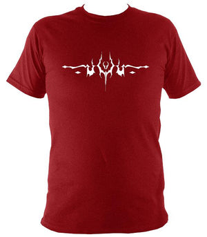 Gothic Tattoo T-shirt - T-shirt - Antique Cherry Red - Mudchutney