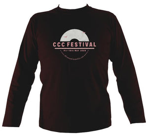 Ciaran's Corona Collabs Mens Long Sleeve Shirt - Long Sleeved Shirt - Dark chocolate - Mudchutney
