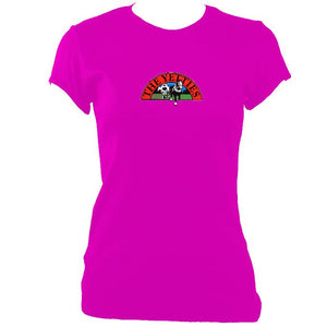 update alt-text with template The Yetties Ladies Fitted T-shirt - T-shirt - Heliconia - Mudchutney