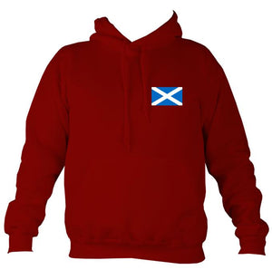 Scottish Saltire Flag Hoodie-Hoodie-Red hot chilli-Mudchutney