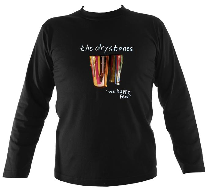 "The Drystones ""We Happy Few"" Mens Long Sleeve Shirt"