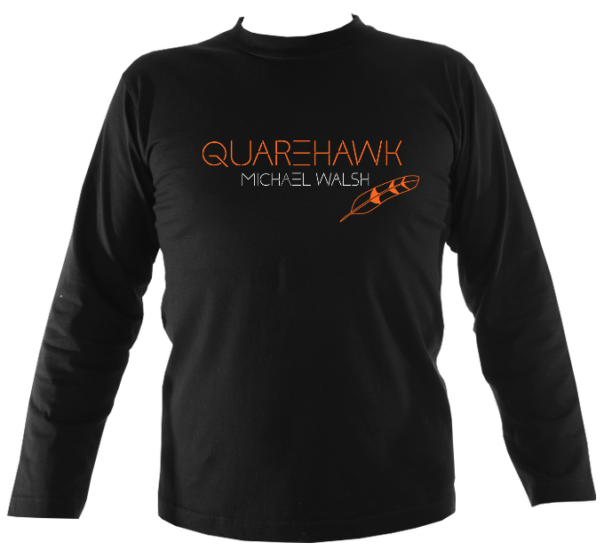 "Michael Walsh ""Quarehawk"" Mens Long Sleeve Shirt"