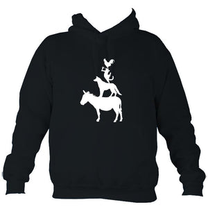 Animal Band Hoodie-Hoodie-French navy-Mudchutney