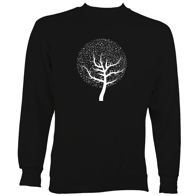 Musical Notes Tree Sweatshirt
