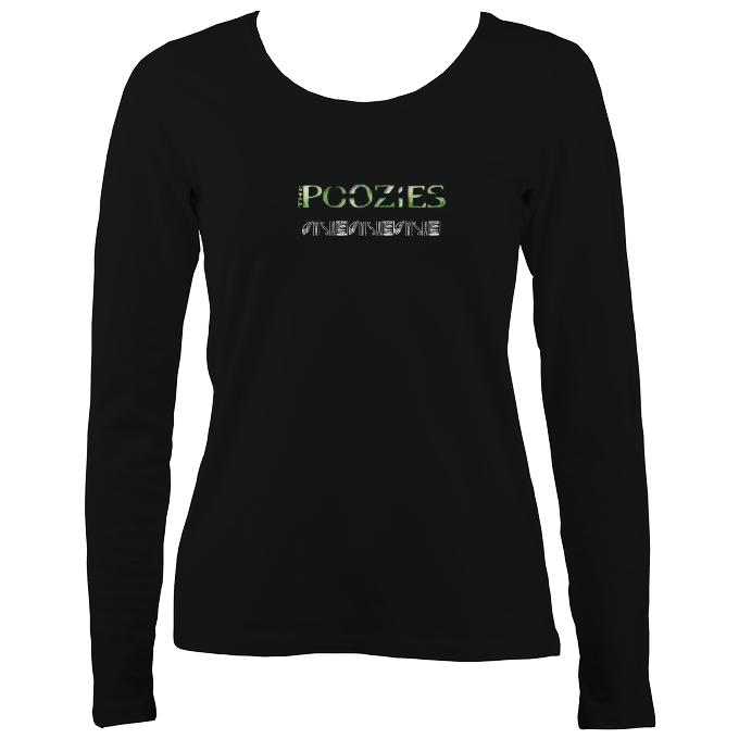 The Poozies Retro Ladies Long Sleeve Shirt