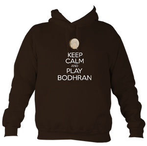 Keep Calm and Play Bodhran Hoodie