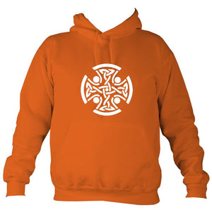 Celtic Round Hoodie-Hoodie-Burnt orange-Mudchutney