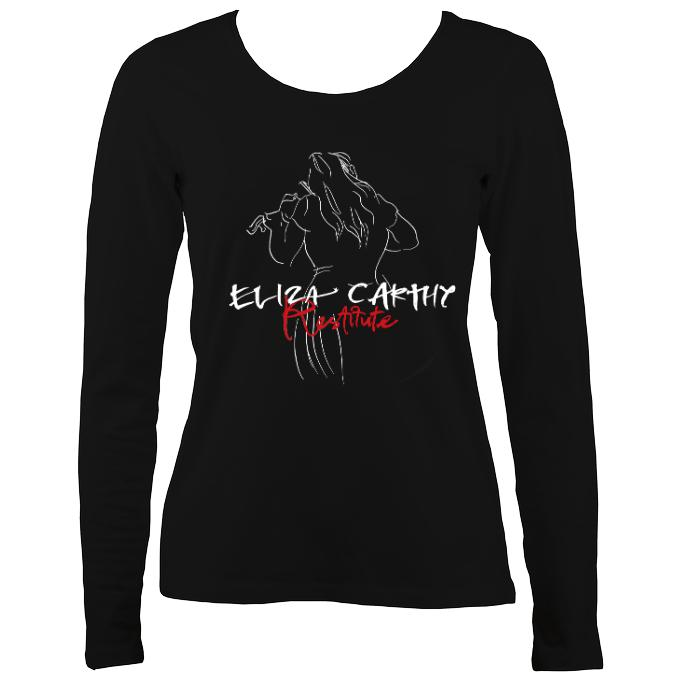 Eliza Carthy Restitute Ladies Long Sleeve Shirt