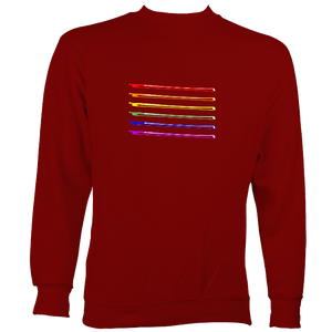 Rainbow Bows Sweatshirt