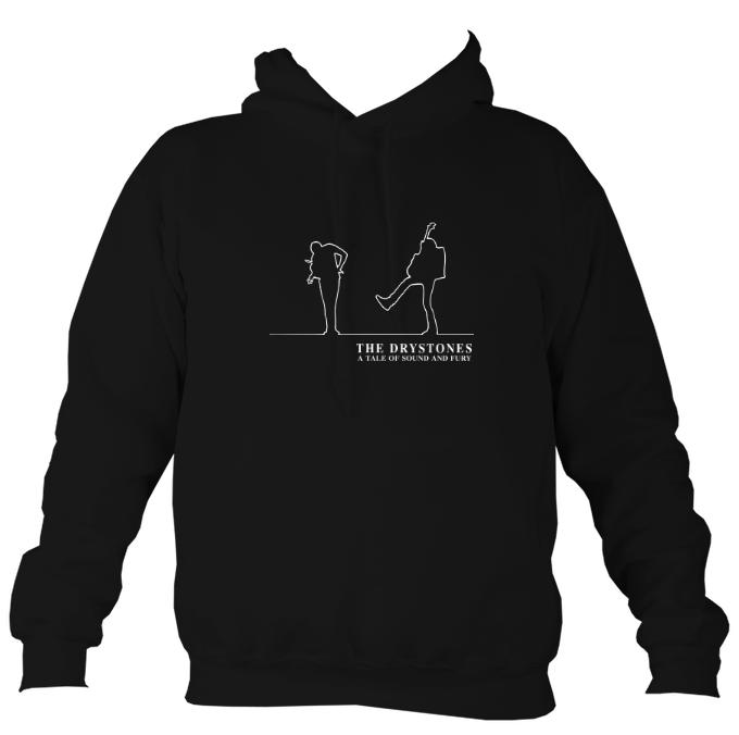 "The Drystones ""Tale of Sound and Fury"" Hoodie-Hoodie-Jet black-Mudchutney"