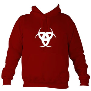 Tribal 3 Moons Hoodie-Hoodie-Red hot chilli-Mudchutney