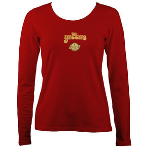 "The Yetties ""Proper Job"" Ladies Long Sleeve Shirt"