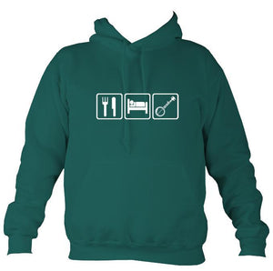 Eat, Sleep, Play Banjo Hoodie-Hoodie-Jade-Mudchutney