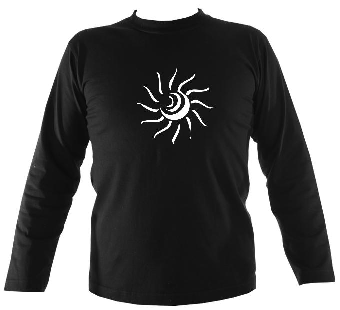 Tribal Sun Mens Long Sleeve Shirt