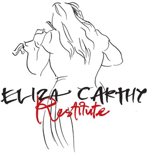 update alt-text with template Eliza Carthy Restitute Ladies Fitted T-shirt - T-shirt - Black - Mudchutney