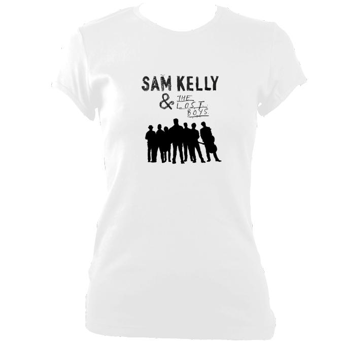 Sam Kelly and the Lost Boys Ladies Fitted T-shirt