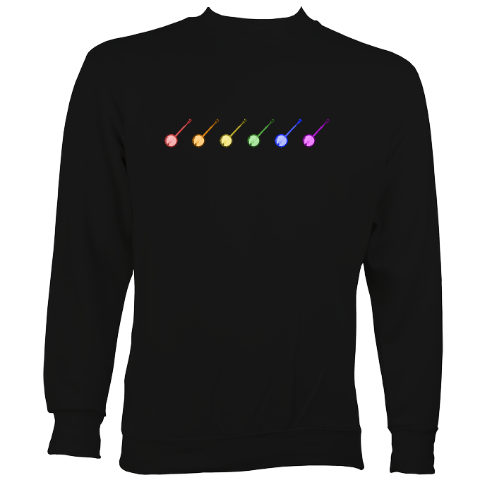 Rainbow of Banjos Sweatshirt