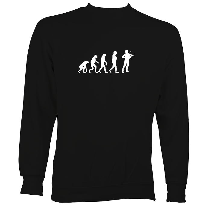Evolution of Fiddle Players Sweatshirt